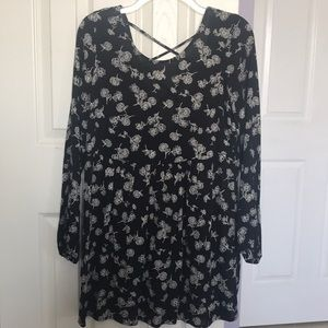 Floral Baby Doll Style Dress